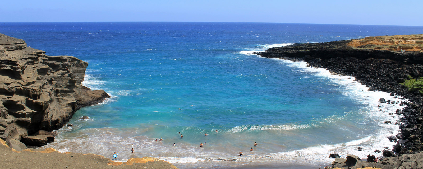 Banner photo showing a Hawaiian beach